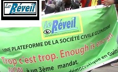 GUINEE / COMMUNIQUE DE PRESSE DE L'ONG «REVEIL POUR L'ALTERNANCE DEMOCRATIQUE EN GUINEE» (RADG)