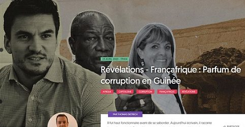 (VIDEO) GUINEE / La dictature, les assassinats et les pillages à ramification internationale du brigand de la République Alpha Condé dénoncés par Thomas DIETRICH.