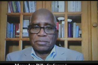 FRANCE / Mamadou Billo Sy Savané dénonce les massacres et la politique ethno-régionaliste mise en place par Alpha Condé, Mohamed Diané et Damaro Camara. Il demande au peuple et à l'armée de chasser le clan d'Alpha Condé du pouvoir (Paris le 10 juin 2020).