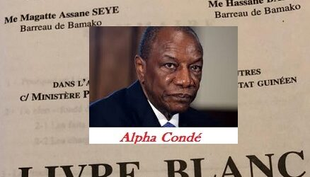 Rébellion meurtrière des années 2000 contre la Guinée / Le livre blanc qui charge Alpha Condé !