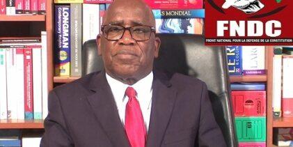 GUINEE / DÉCONCERTATION: je suis déconcerté par un certain F. N. D. C. (Mamadou Billo SY SAVANÉ).