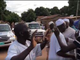 Urgent / L e ministre de la défense Dr Diané et le sanguinaire Bouréma Condé fustigés par des slogans hostiles à Kankan.