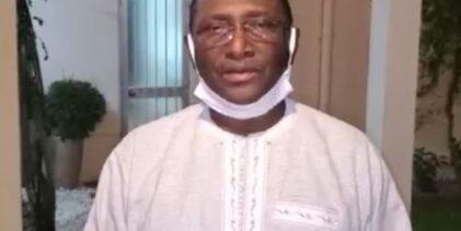 Flash-info / Sidya Touré demande aux Guinéens de sortir massivement le 20 juillet pour manifester jusqu'au départ d'Alpha Condé.