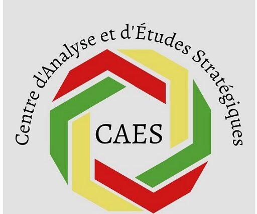 LE SAVOIR AU SERVICE DE L'INTÉRÊT PUBLIC / Création du Centre d'Analyse et d'Études Stratégiques en Guinée (CAES-Guinée)