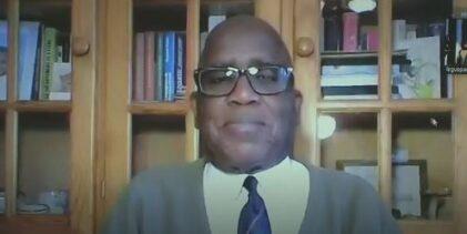 (VIDEO)  Mamadou Billo Sy Savané  fustige le régime clanique et criminel d'Alpha Condé soutenu par la CEDEAO. Il en appelle à la frange républicaine de l'armée à mettre fin au pouvoir usurpé d'Alpha Condé ( Paris le 25 septembre 2020 )