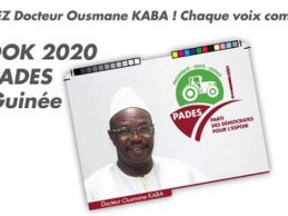 La Guinée que nous aimons Avec le Président Dr Ousmane KABA ( communication de PADES)