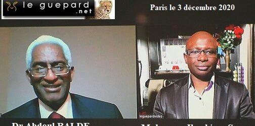 GUINEE/ Dr Abdoul Baldé dénonce le coup de force électoral d'Alpha Condé, les pillages de deniers publics et les crimes commis à Wanindara qu'il qualifie de génocide.