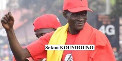 GUINEE / Sékou KOUNDOUNO du FNDC au premier ministre Kassory FOFANA.