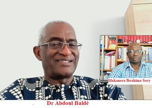 (VIDEO) Lors de cette interview sur «Leguepard.net»,  Dr Abdoul Baldé a justifié son appel à l'armée guinéenne de chasser le président Alpha Condé du pouvoir qu'il qualifie d'illégal et d'illégitime. Il a apporté son soutien aux prisonniers politiques.