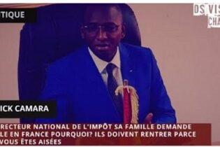 Le directeur national guinéen des impôts et sa famille demanderaient l'asile politique en France ! Le Collectif contre l'impunité en Guinée contactera les autorités compétentes pour en savoir plus.