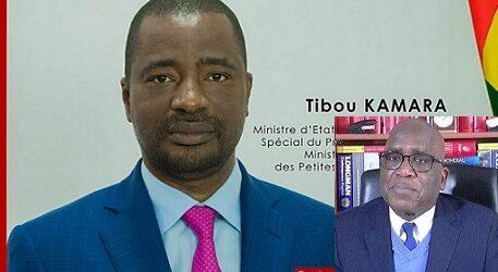 GUINEE / Sortie désespérée de Monsieur Tibou KAMARA pour une vaine tentative de dissimulation des détournements. (Par Mamadou Billo Sy Savané).